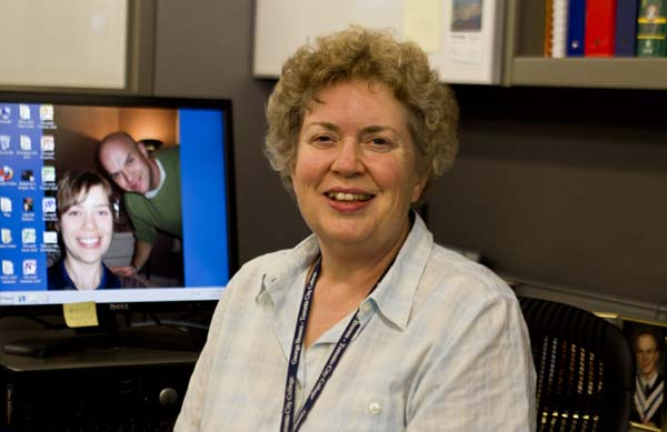 Elizabeth O'Brien has taught nursing students at George Brown for 38 years. Photo: Preeteesh Peetabh Singh / The Dialog