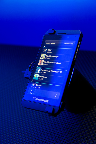 BlackBerry 10 Z10 Photo courtesy of BlackBerry Images / Creative Commons