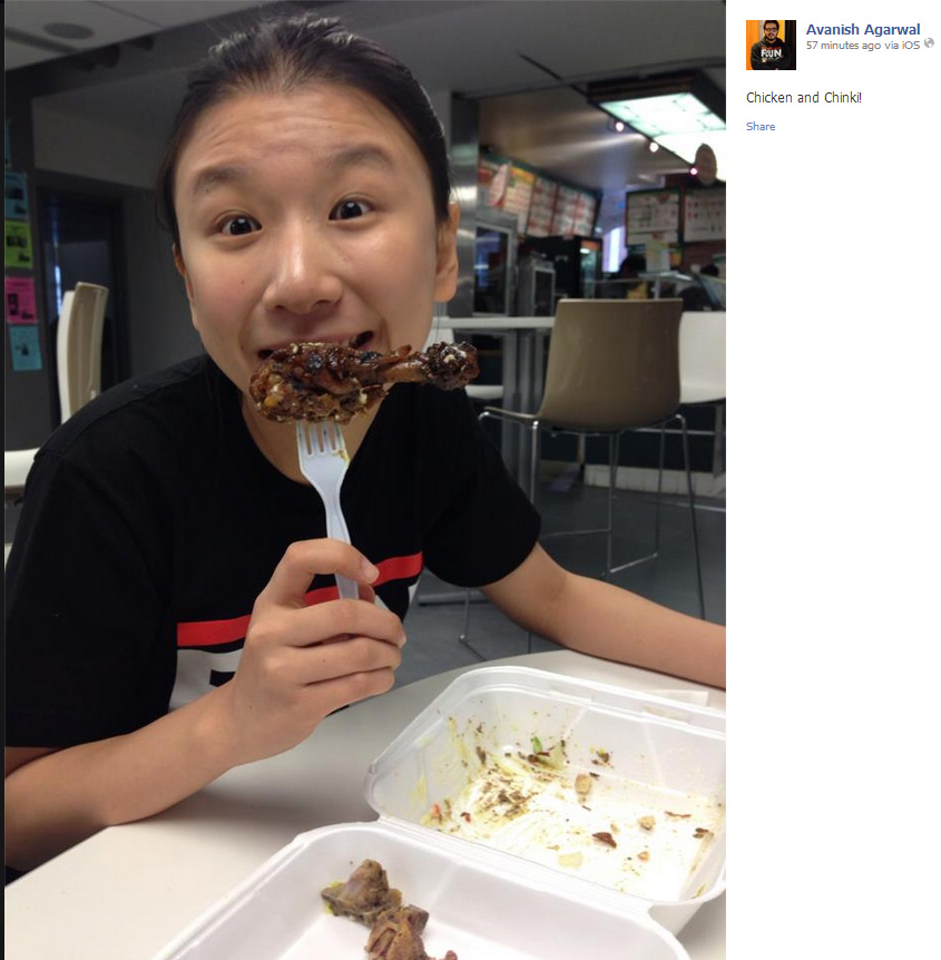 "Yuchen Sun, candidate for director of Finance and Operations, said a comment calling her a ""chinki"" that was posted by her Unified 4 Change slate-mate, Avanish Agarwal was ""a misunderstanding between different cultures and friends."""