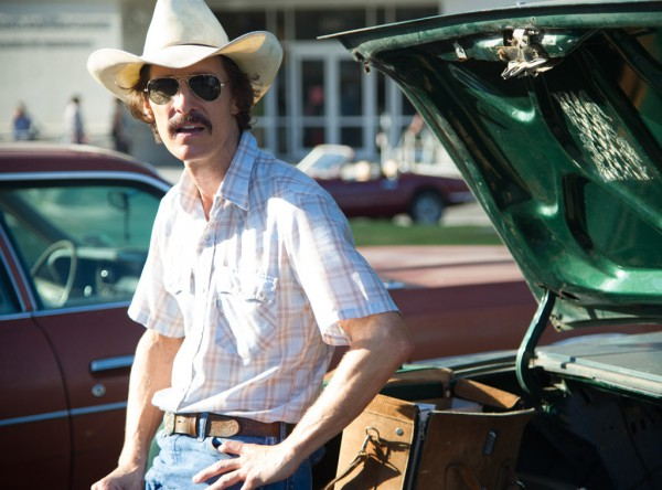 Matthew McConaughey won the Oscar for best actor for his role in Dallas Buyers Club.
