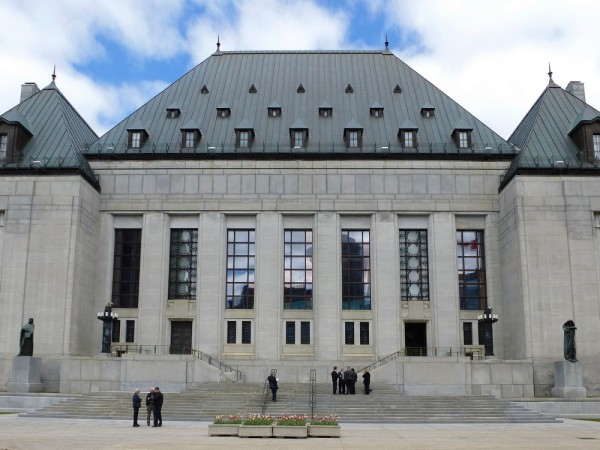 Photo of the Supreme Court of Canada by Bob Linsdell/Flickr Commons