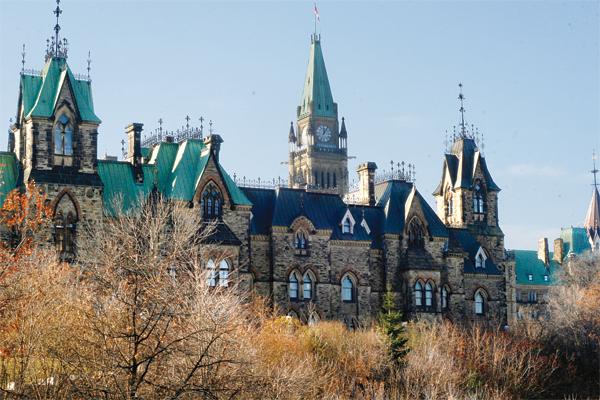 Parliament Hill in Ottawa File Photo: Tina Wallace/The Fulcrum