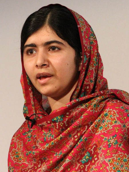 """<a href=""http://commons.wikimedia.org/wiki/File:Malala_Yousafzai_at_Girl_Summit_2014.jpg#mediaviewer/File:Malala_Yousafzai_at_Girl_Summit_2014.jpg"">Malala Yousafzai at Girl Summit 2014</a>"" by Russell Watkins/Department for International Development. - <a rel=""nofollow"" class=""external free"" href=""https://www.flickr.com/photos/dfid/14714344864/"">https://www.flickr.com/photos/dfid/14714344864/</a>. Licensed under <a href=""http://creativecommons.org/licenses/by/2.0"" title=""Creative Commons Attribution 2.0"">CC BY 2.0</a> via <a href=""//commons.wikimedia.org/wiki/"">Wikimedia Commons</a>."