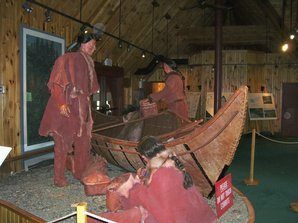 One of the first nations to make contact with Europeans was the Beothuk, who perished by 1829. Photo of the Beothuk Interpretation Centre in Boyd's Cove, Newfoundland. Photo: June West (CC BY-ND 2.0)