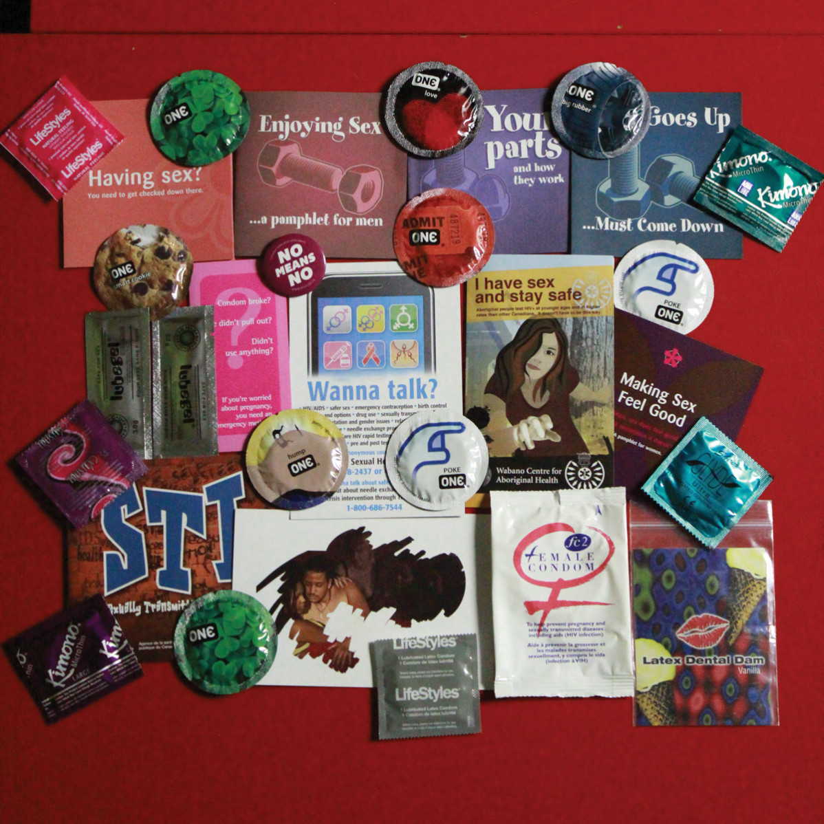 The community action centre is helping to promote safer sex Photo: Brittany Barber/The Dialog