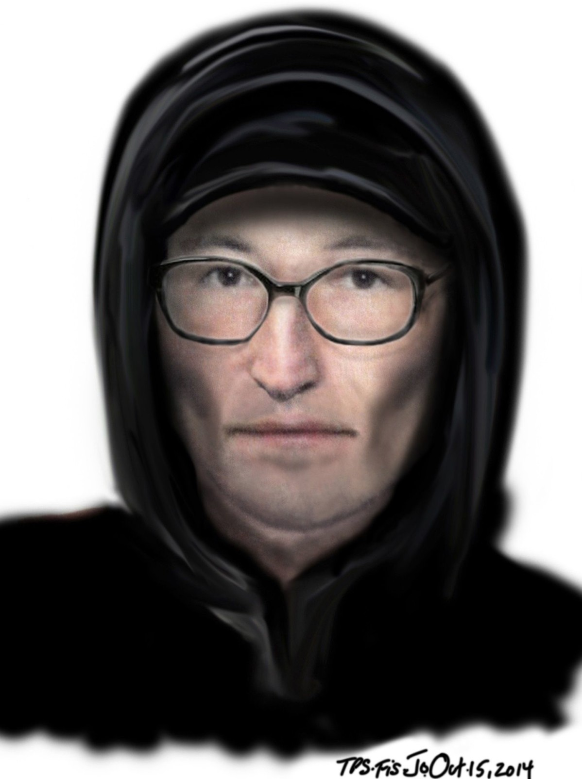 Composite sketch of man wanted in sexual assault investigation