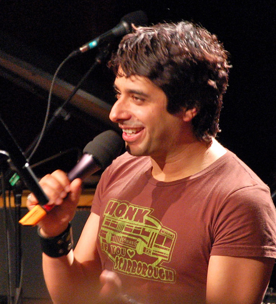 Jain Ghomeshi in Vancouver in 2009. Photo: Penmachine CC BY-SA 3.0