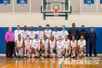 The Huskies men's basketball team  Photo: GBC Athletics