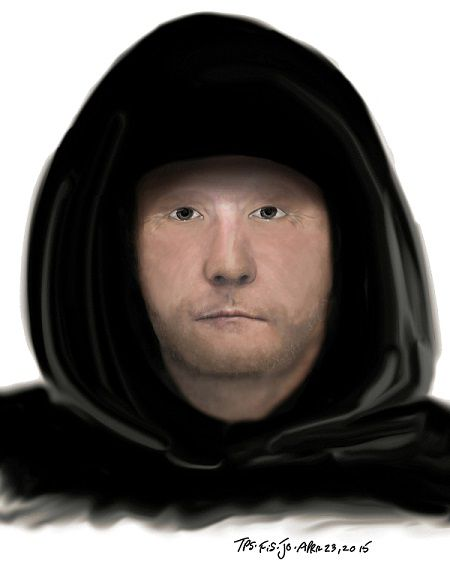 Police sketch of suspect wanted for a sexual assault in the Parliament  and Front St. East area.