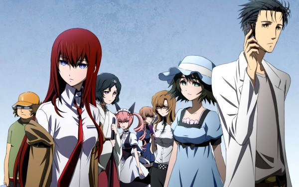 Image of steins gate anime characters