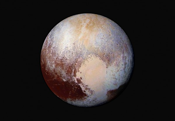 Image of Pluto Planet by New Horizons Mission - Image by NASA