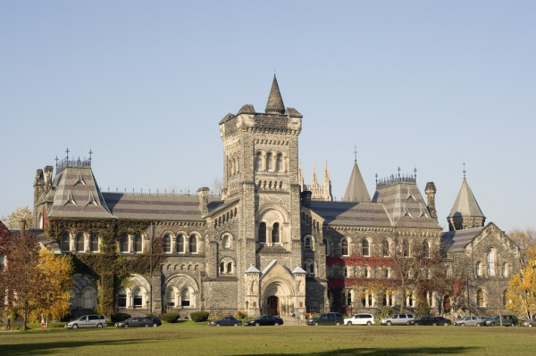 Image of University College at the University of Toronto St George Campus