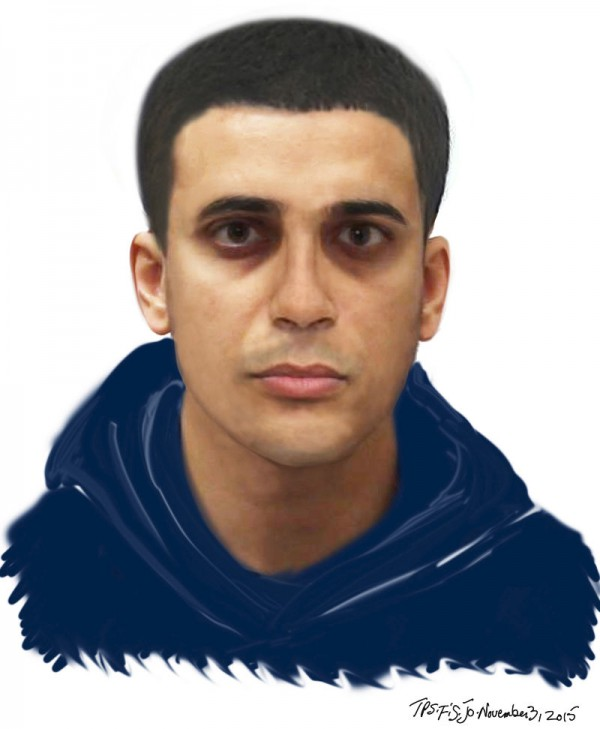 Toronto police have released a composite sketch of a man wanted for a sexual assault in the Shuter and Regent Street area.