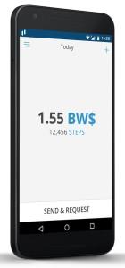 Bitwalking app