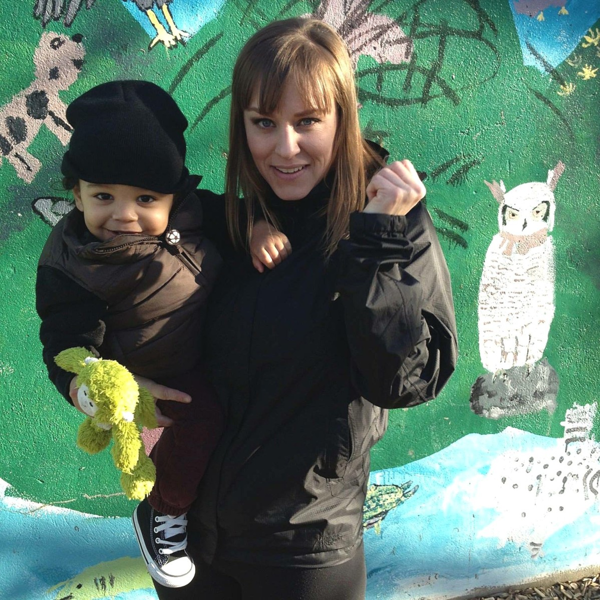 Image of Shana Kealey and her son Kiyan