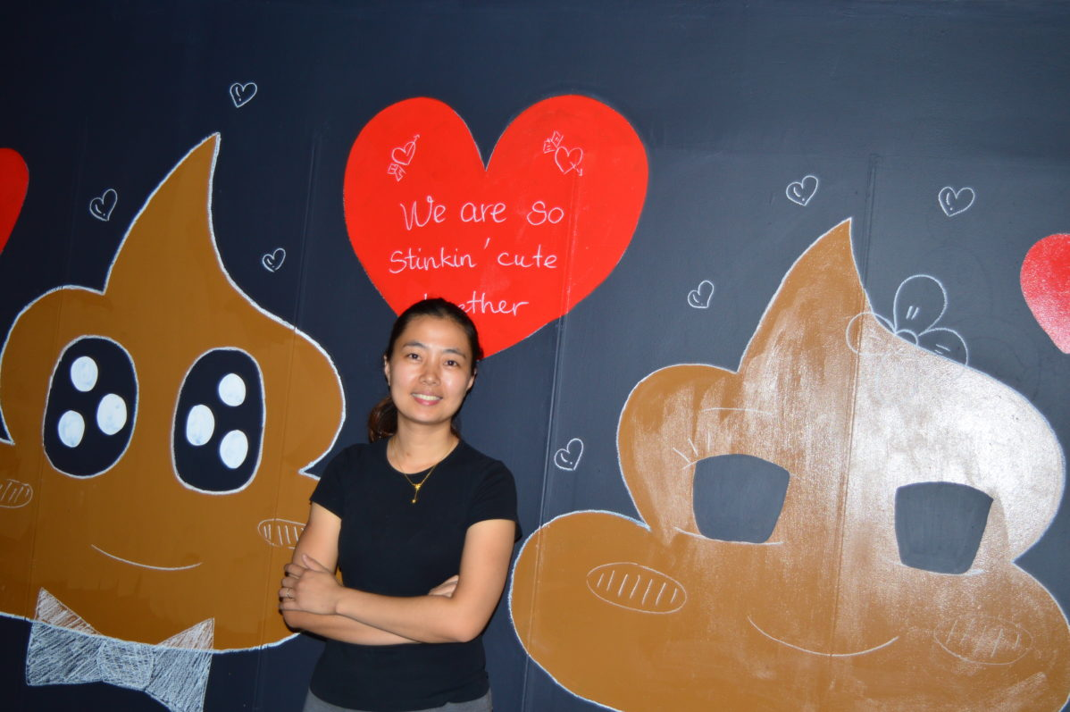 Lien Nguyen's Poop Café is set to open this September