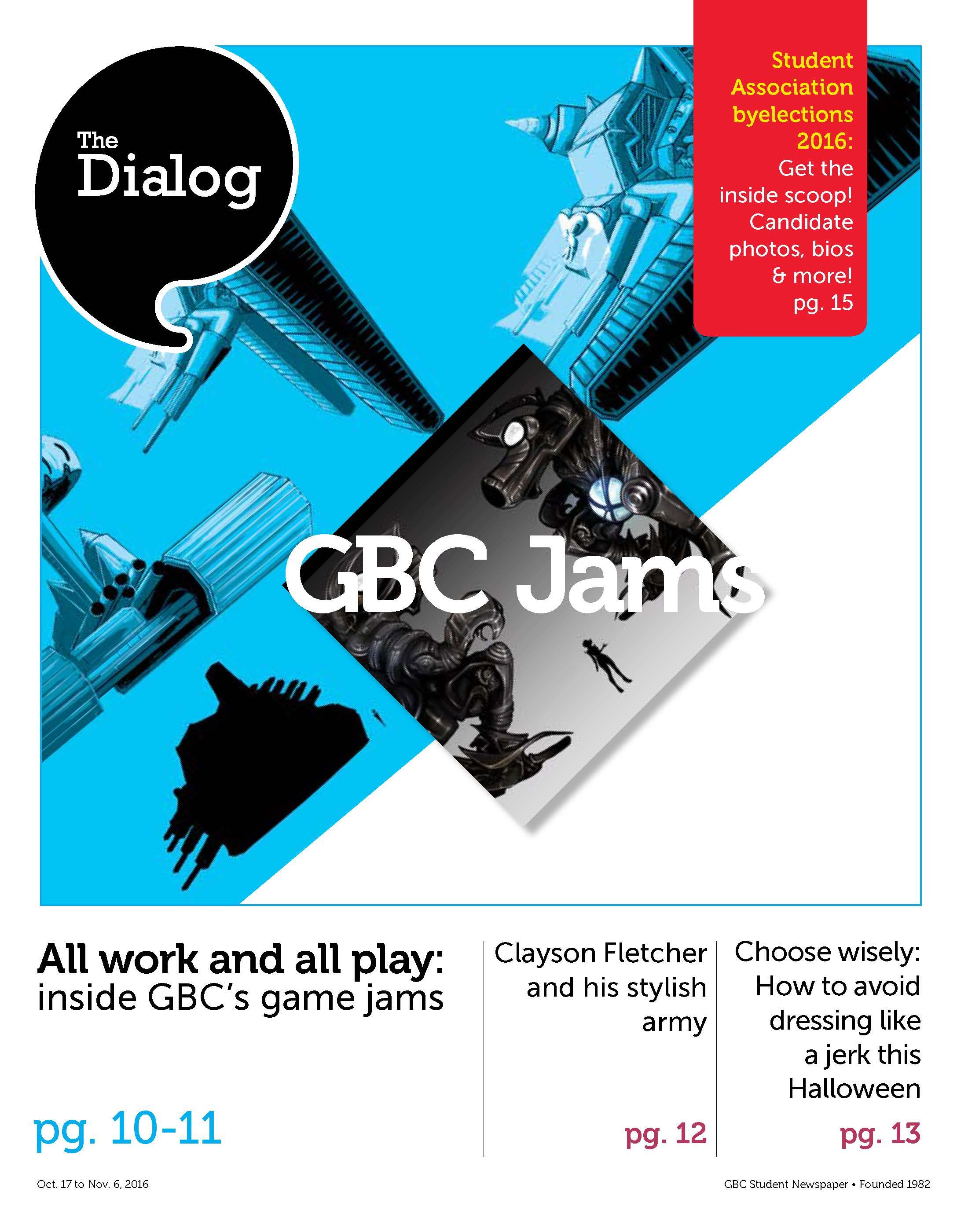 GBC Jams. Oct. 17 to Nov. 6, 2016