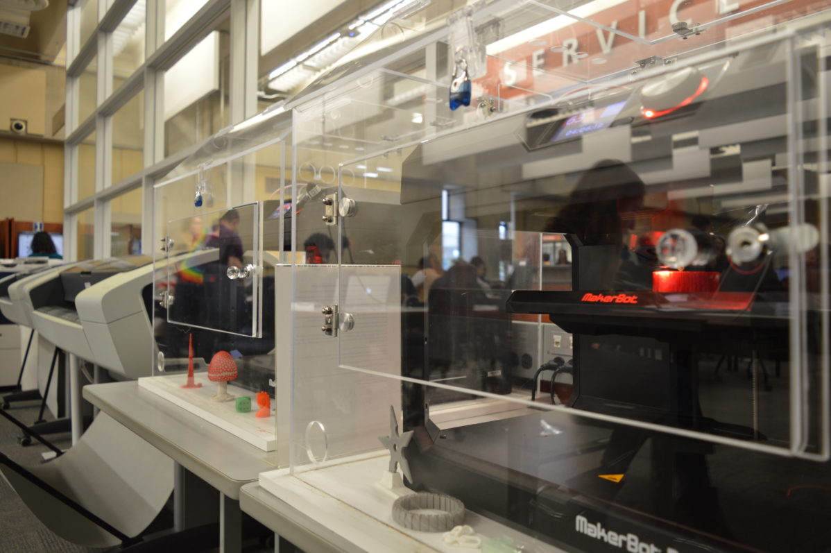Casa Loma Library Learning Commons has a new Makerspace with 3D printers. Photo: Mick Sweetman / The Dialog