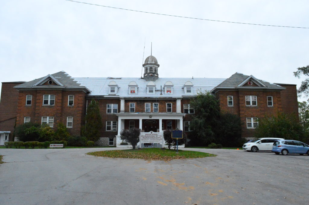 The Mohawk Institute Residential School was open from 1831 to 1970. Photo by Steve Cornwell / The Dialog