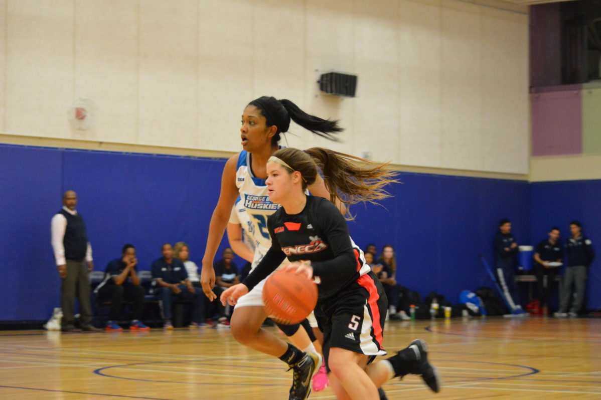 Seneca Sting defeat George Brown Huskies