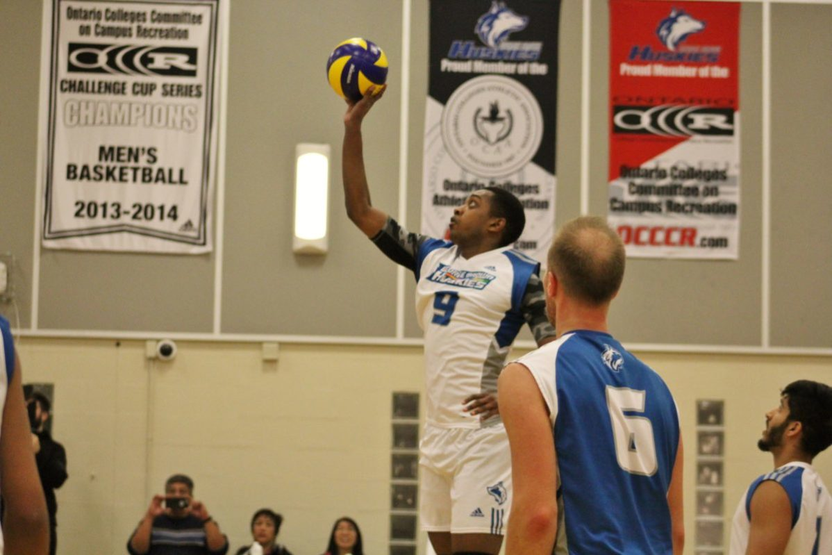 George Brown Huskies defeat the Niagara College Knights 3-0