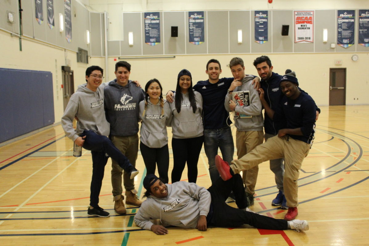 George Brown College Huskies varsity events staff