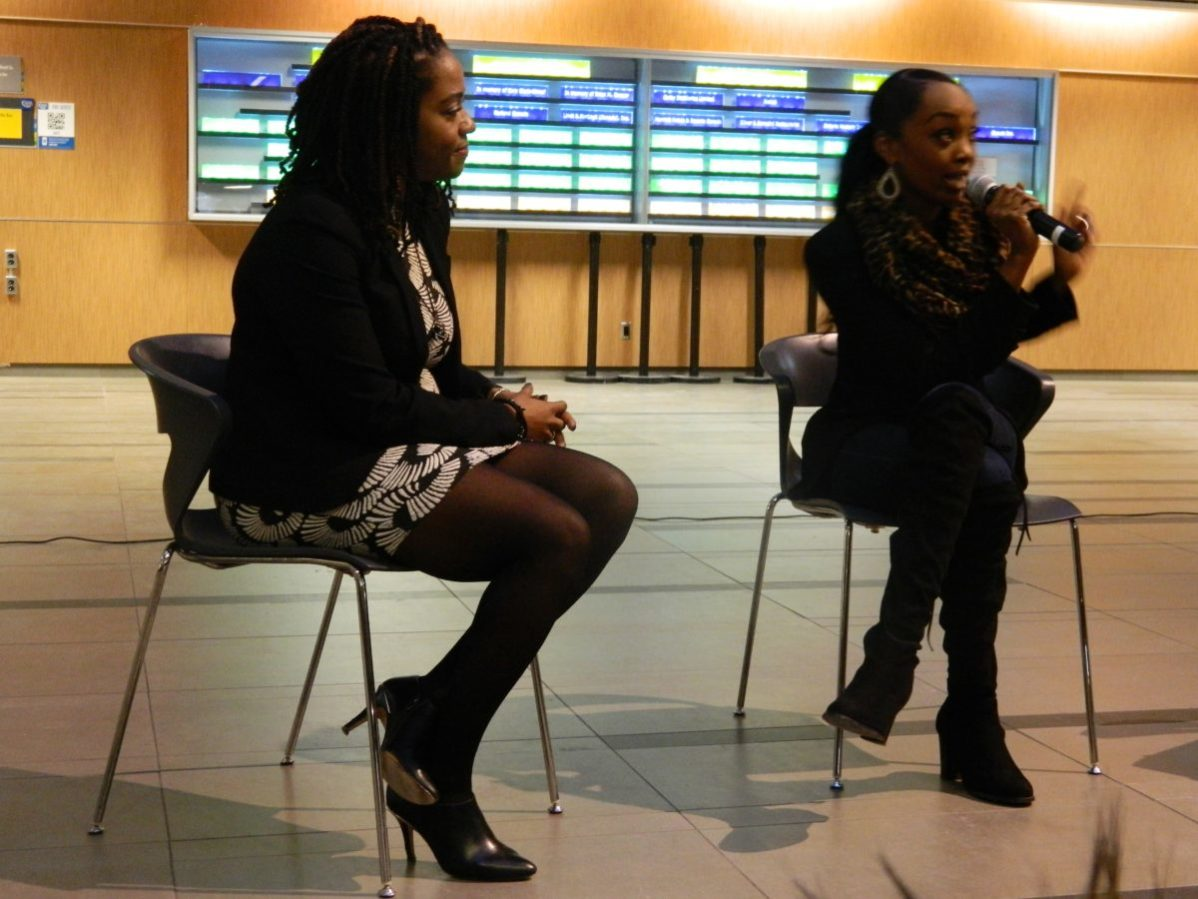 "George Brown Counselling Manager Tenniel Rock and GBC alumni Stacy-Ann Buchanan discuss ""The Blind Stigma"""