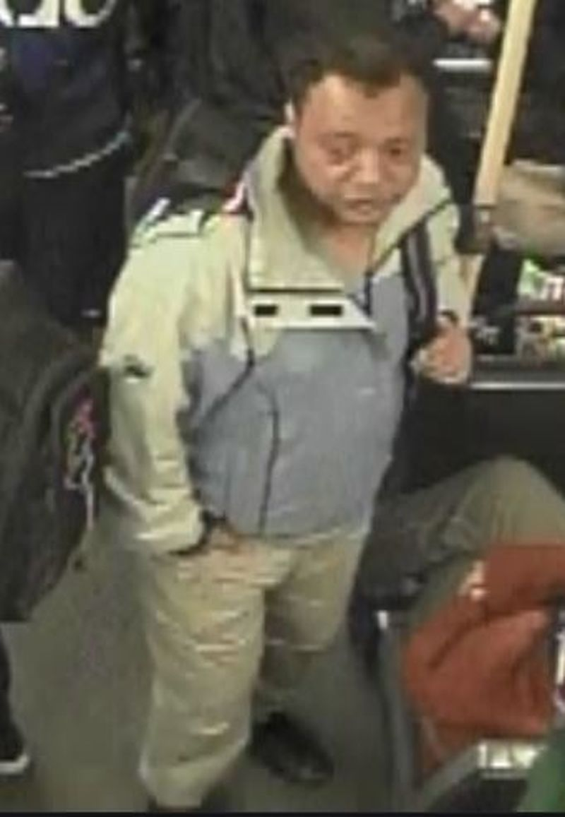 Security camera image of man in Sexual Assault investigation. Photo courtesy of Toronto Police.