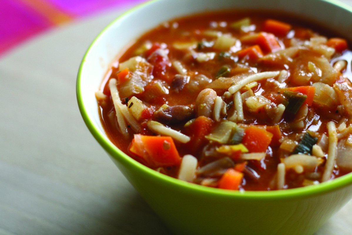 Minestrone soup photo by Katrin Gilger / Flickr (CC by SA 2.0)
