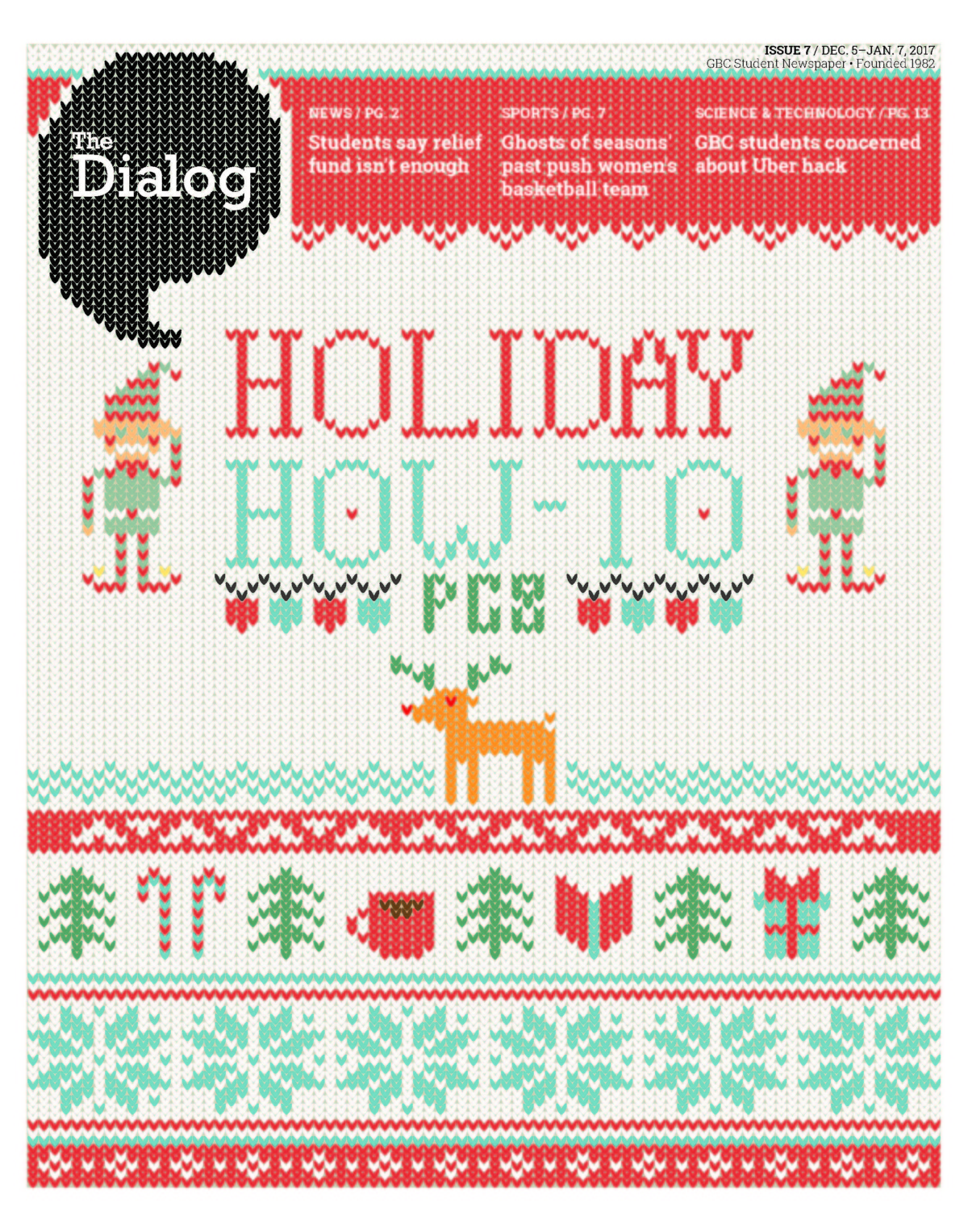 The Dialog  Dec. 5, 2017 to Jan. 7, 2018