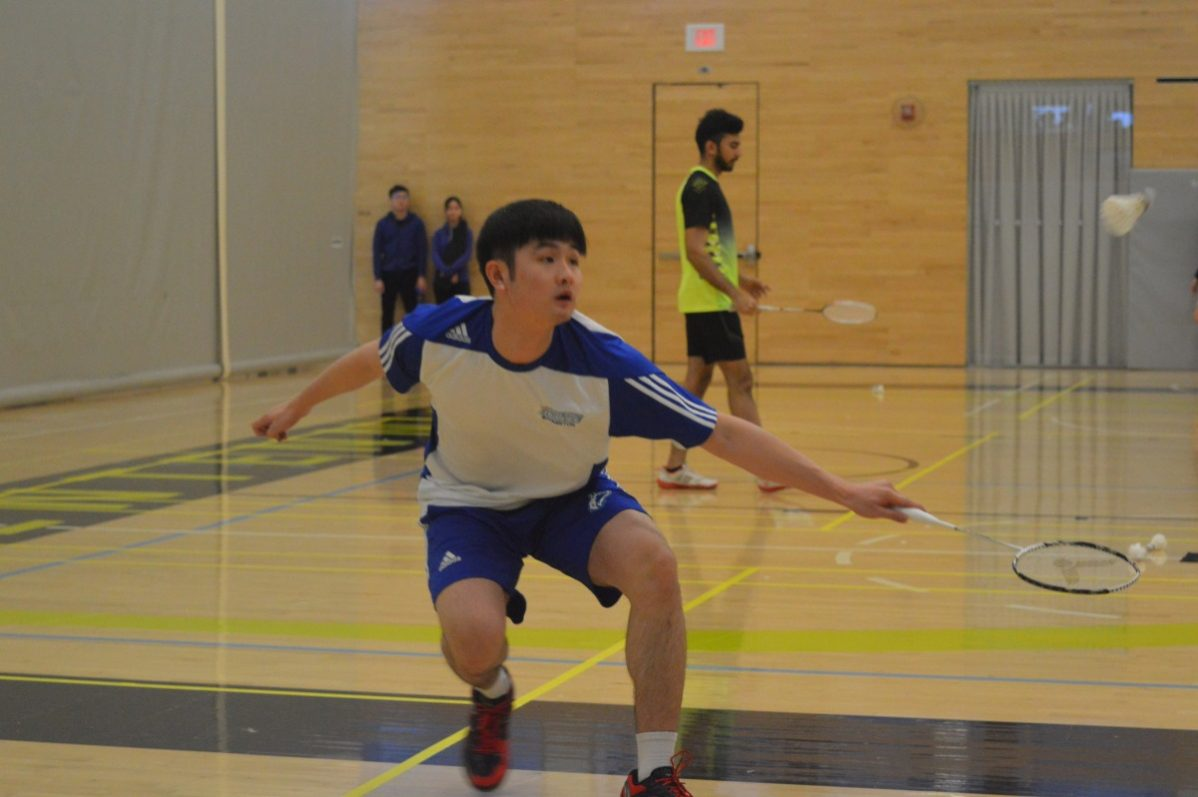 Yuge (Ace) Zeng won the gold medal at the OCAA East Regional and is one of eight Huskies off to the OCCA Championship.