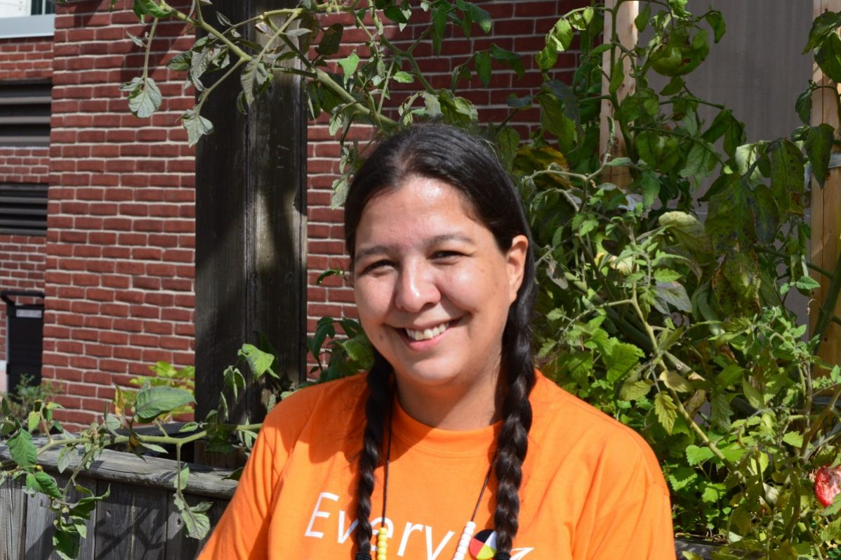 Alexa Rudi, an ACE upgrading student at George Brown College, said she participated in Orange Shirt Day to remember what her grandparents went through as residential school survivors.