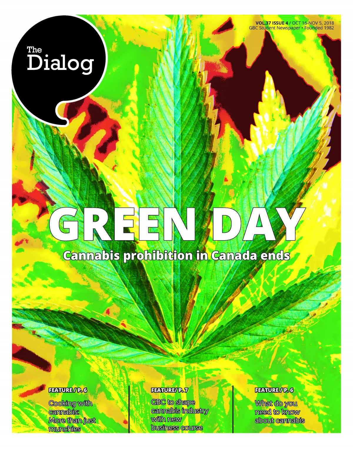 The Dialog Vol. 37, Issue 4, Oct. 17 to 29, 2018