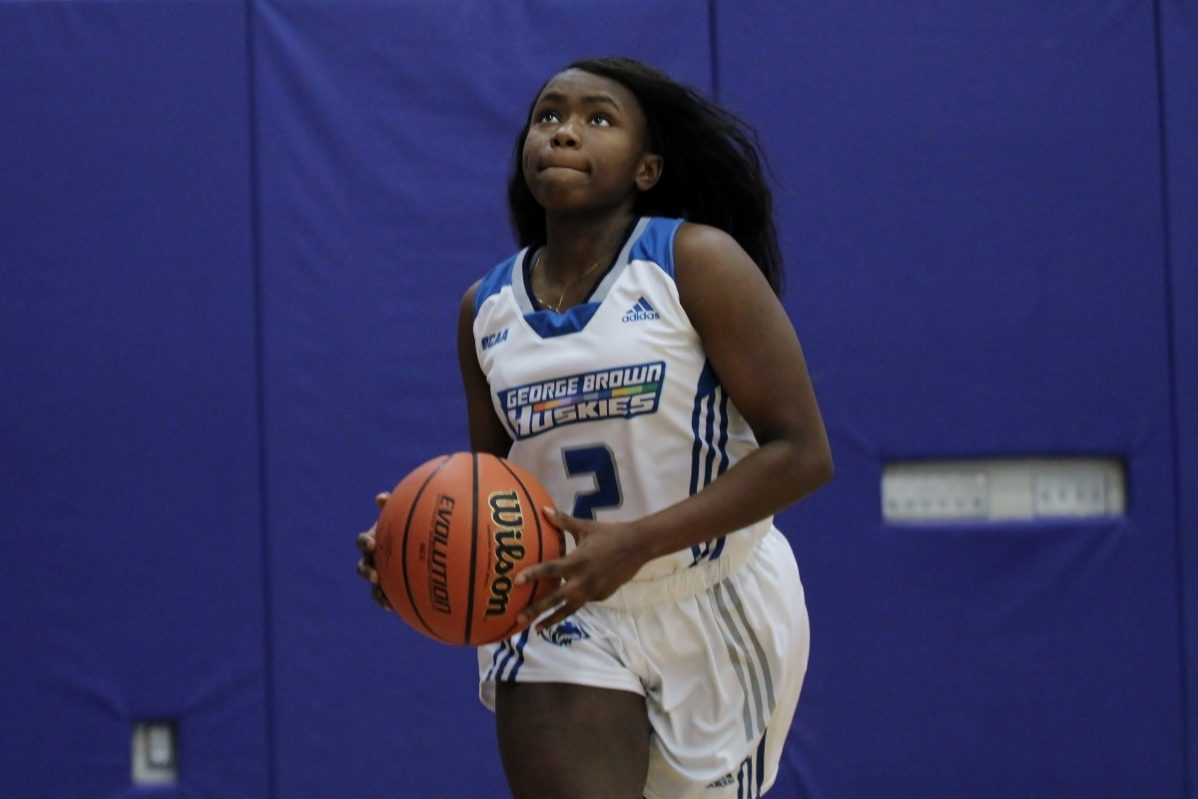 GBC women's basketball point guard Zae Sellers has joined the Huskies after playing in the U.S., most recently with Ohio Valley University. Photo: Philip Iver / GBC Athletics and Recreation.