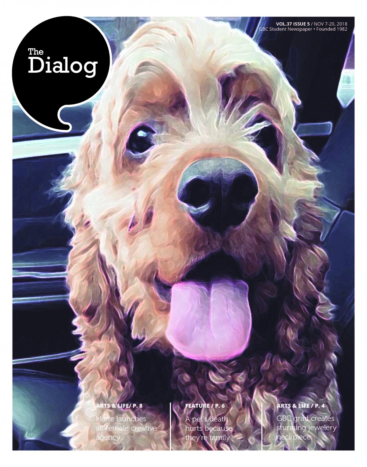 The Dialog Vol. 37, Issue 5, Nov. 7 to 20, 2018