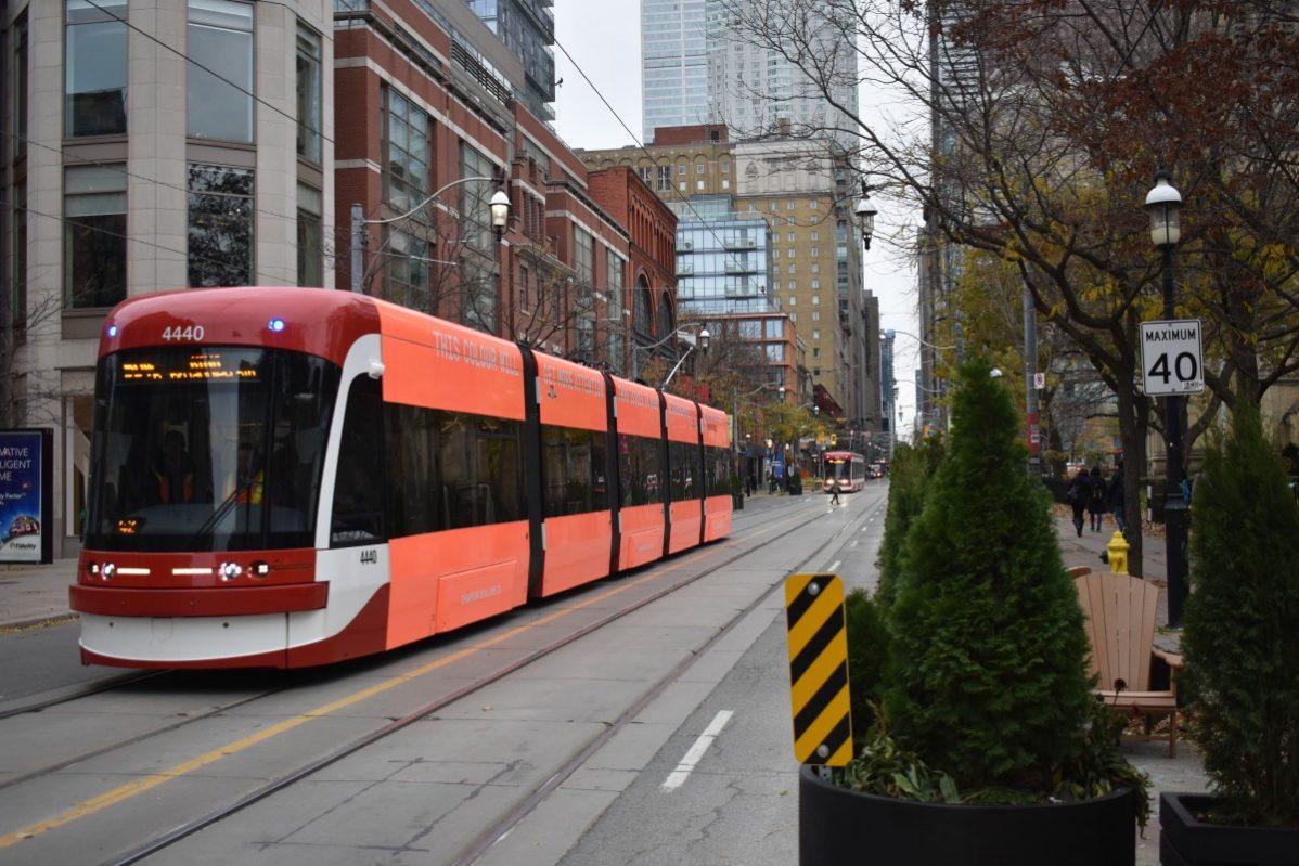 King Street Transit Pilot. Photo: Kevin Goodger / The Dialog